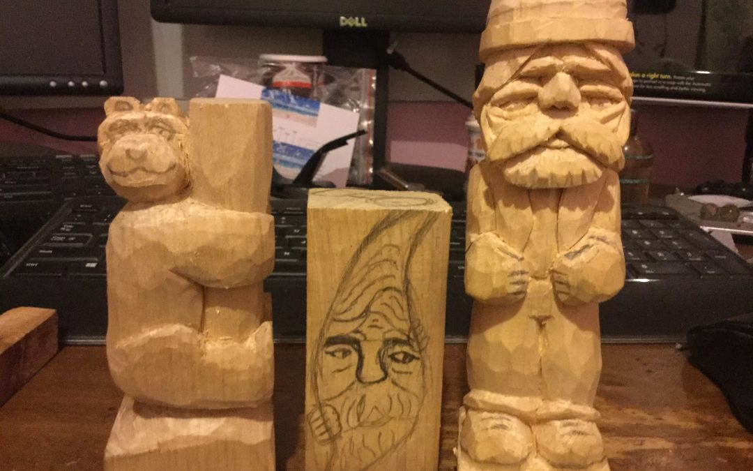 My First Wood Spirit Post