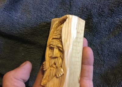 Wood Spirit Right