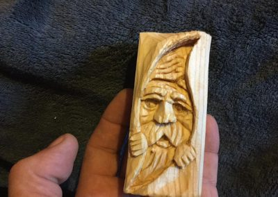 Wood Spirit Breaking Out